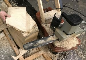 Chainsaw mill - first board.jpg